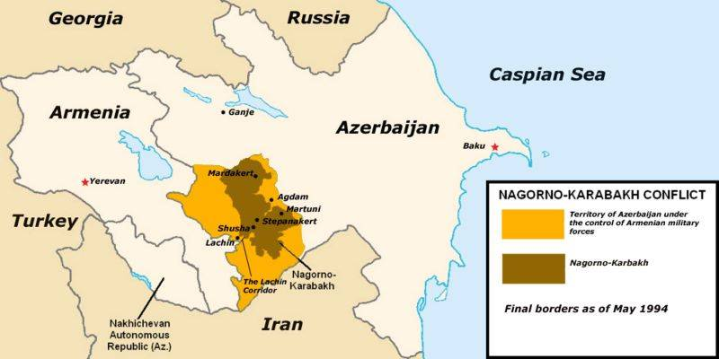 War in Karabakh. It's been a long time since two in a fight