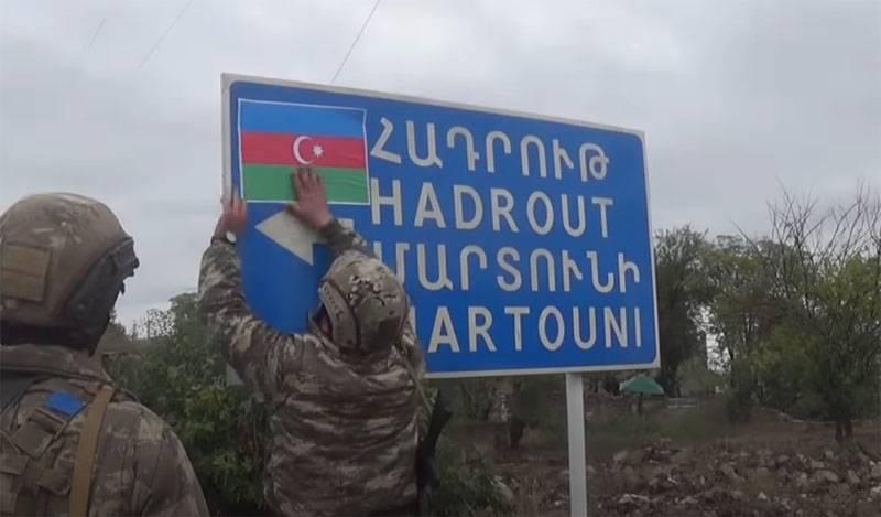 L'armée azerbaïdjanaise a annoncé la capture de Shukurbeyli avec un monument d'archéologie situé là-bas