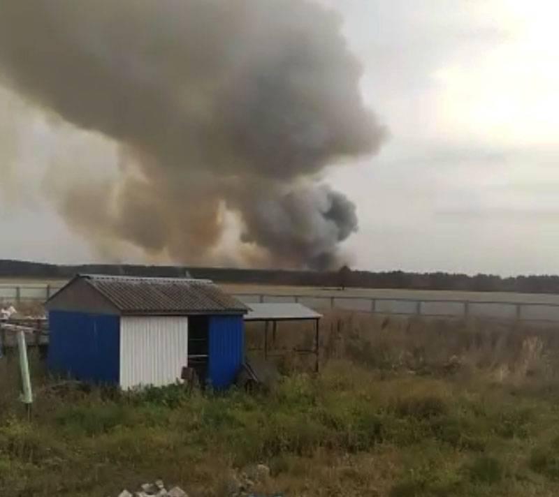 リヤザン地域の軍事施設で爆発が吠える
