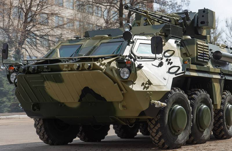 Towers for Ukrainian BTR-4 will be purchased from a private company