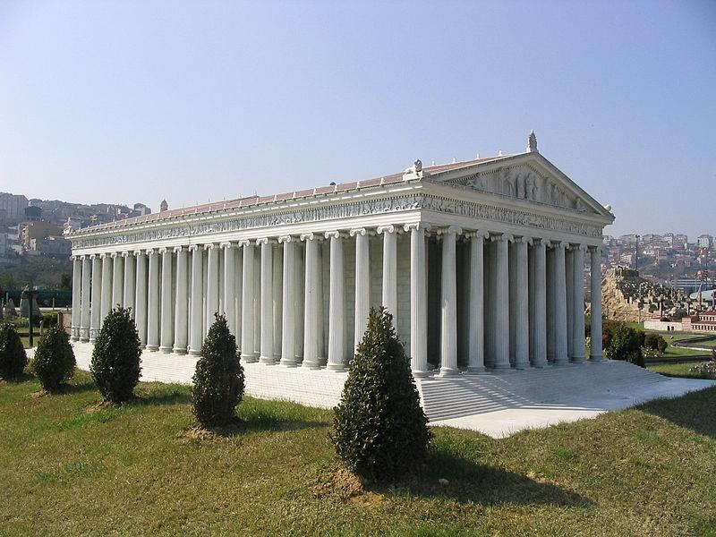Palácio de Hovburg. Mármore e bronze de Éfeso