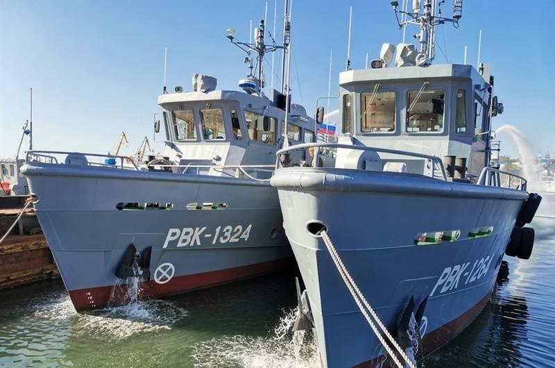 Die Pazifikflotte erhielt zwei Such- und Rettungsboote des Projekts 23040