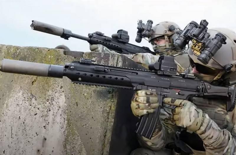 联邦国防军没有新的突击步枪:Haenel的MK556合同被撤回