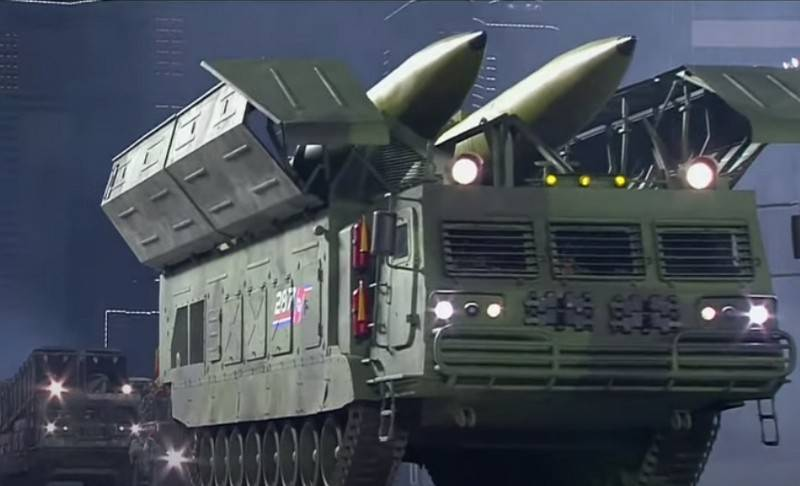 "ICBMs and SLBMs ""Pukkykson-4A"": in Pyongyang showed new ballistic missiles"