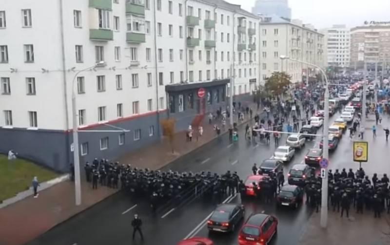 """""""Marcha del Orgullo"""" en Bielorrusia: la oposición tiene la intención de poner de rodillas a los agentes de seguridad"""
