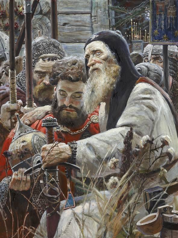 ドミトリー・イワノビッチ、王子戦士。 モスクワとトヴェリの間の戦争