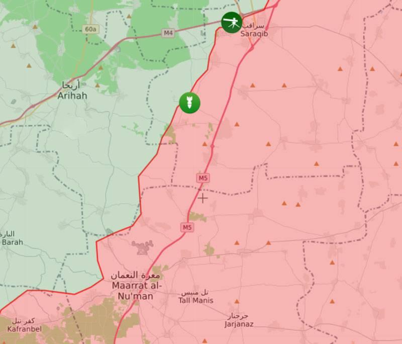 """A Síria Idlib perdeu o status de mais """"hot spot"""" no mapa do mundo: sobre os prováveis motivos"""