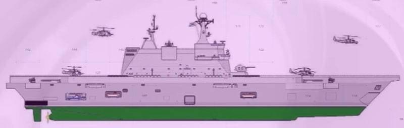 俄罗斯自己建造直升机航母:根据国内UDC的特点和前景