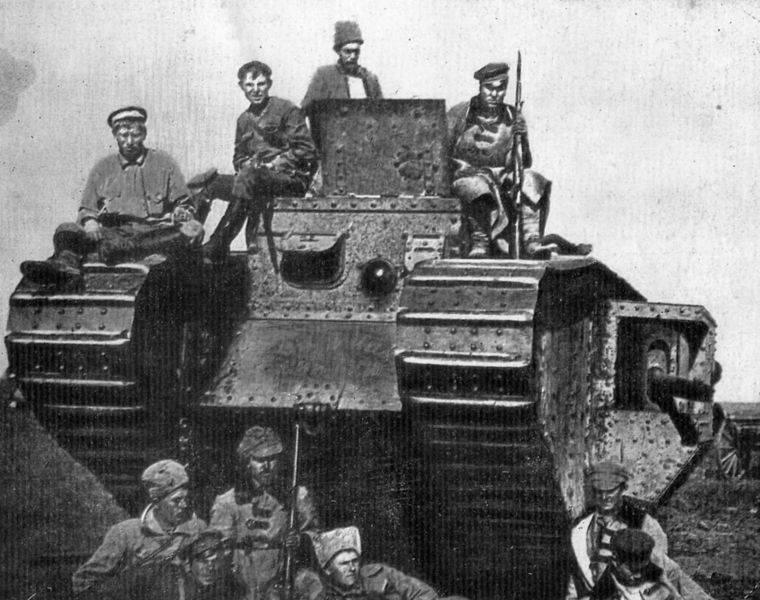 弗兰格尔军队在第聂伯河战役中被击败