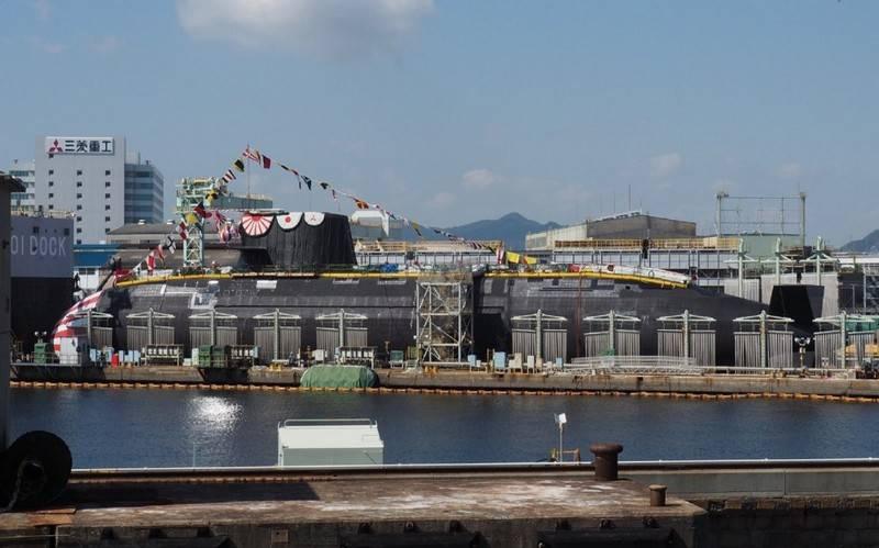 El primer submarino nuclear de nueva generación Taigei (29SS) fue lanzado en Japón