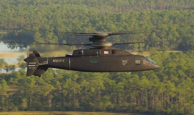 有前途的高速直升机SB1 Defiant经过了三分之二的发动机功率测试