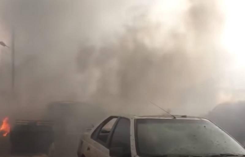 Quattro militanti sono morti mentre preparava una provocazione con armi chimiche in Siria