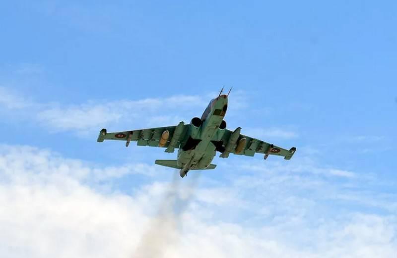 Ermenistan Savunma Bakanlığı, Azerbaycan Hava Kuvvetleri'nin Su-25'inin düşürüldüğünü duyurdu