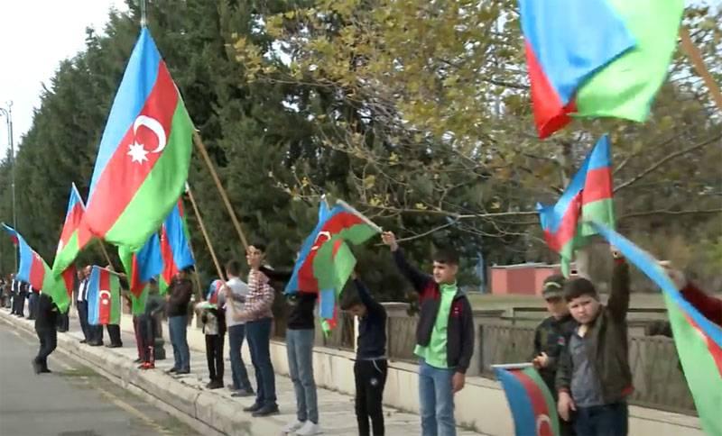 """""""MLRS munições cluster usadas"""" Smerch """": o Ministério da Defesa da Armênia acusou o Azerbaijão de bombardear a cidade de Martuni, em Karabakh"""