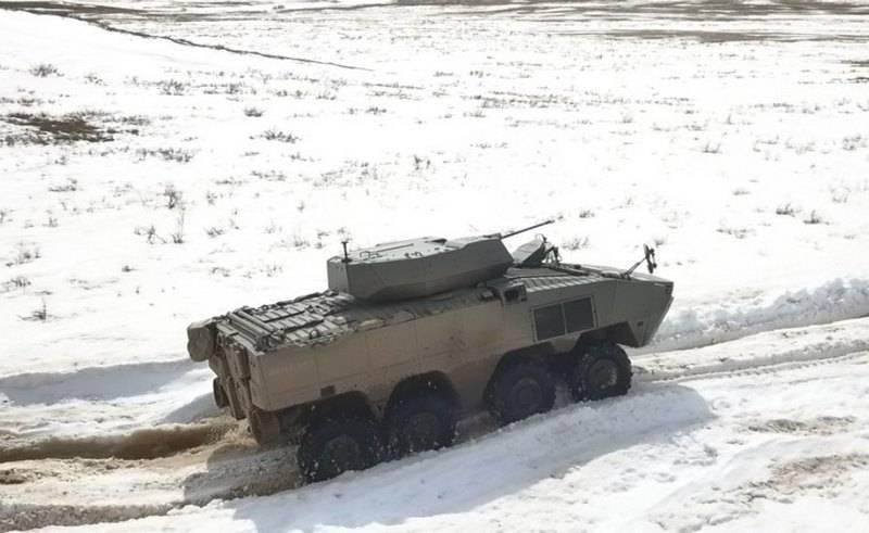 "Turquía ofreció a Kazajstán un vehículo de combate con ruedas ""Arma"" 8X8"