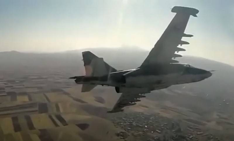 The truce continues: Azerbaijan announces another shot down of the Su-25 of the Armenian Air Force
