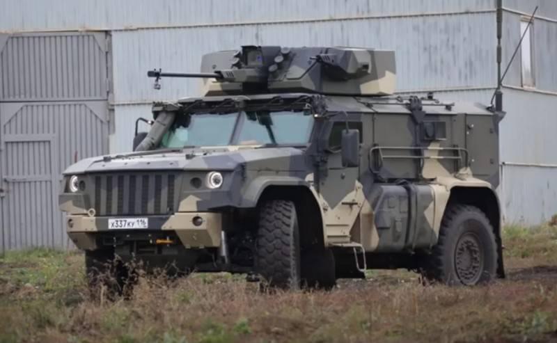 """Staatstests sind vorbei: Der Panzerwagen K4386 """"Typhoon-VDV"""" ging an die Truppen"""