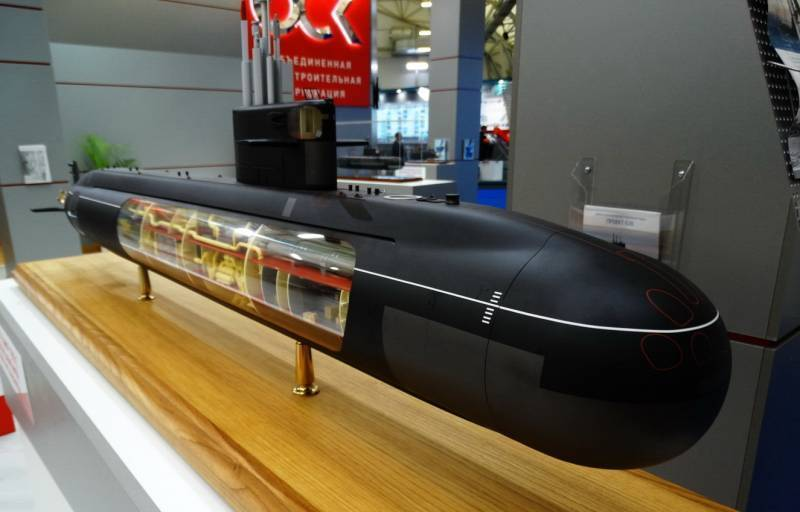 """The project of the fifth generation nuclear submarine """"Kalina"""" received the number 777A"""