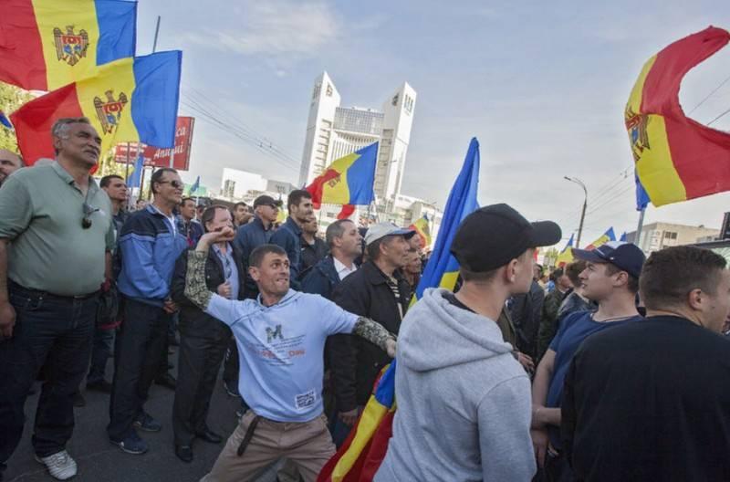 """""""O próximo alvo é Dodon"""": o SVR aprendeu sobre a preparação da """"revolução de cores"""" dos EUA na Moldávia"""