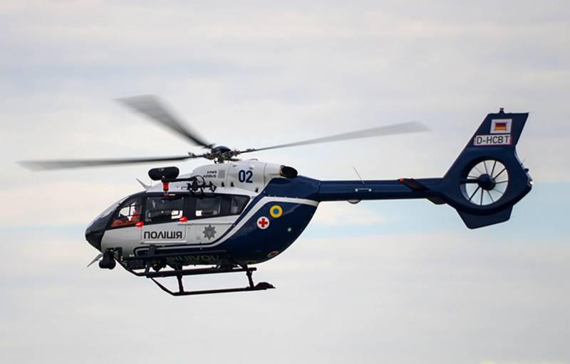 Украина получила первые вертолёты Airbus H145 для Нацполиции