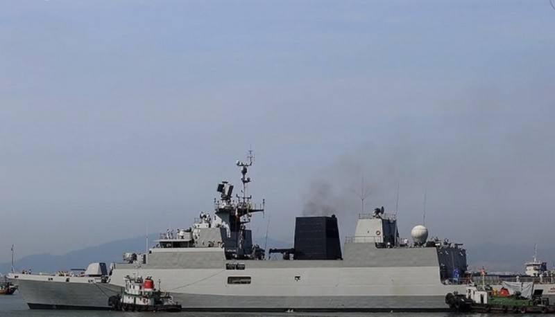 भारतीय नौसेना ने श्रृंखला में नवीनतम कामोर्ता-वर्ग विरोधी पनडुब्बी कार्वेट को अपनाया है
