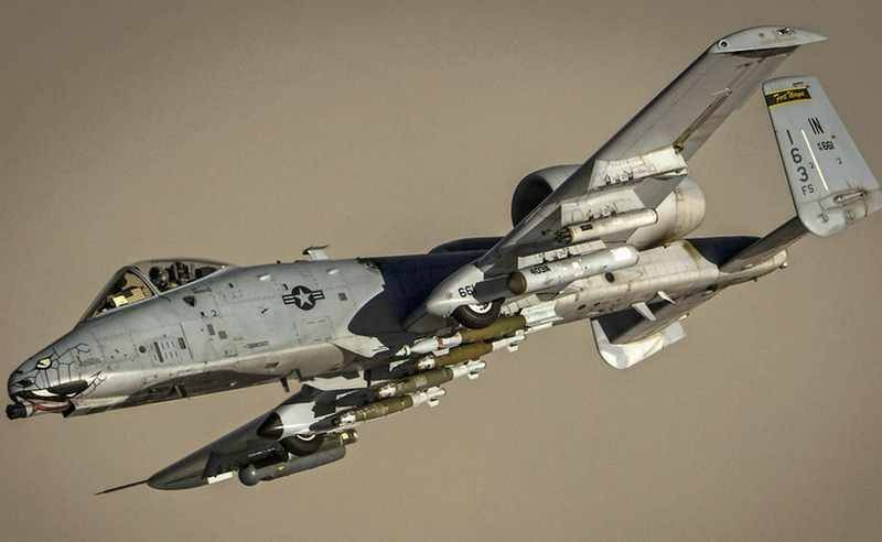 The legendary attack aircraft A-10 will undergo a global upgrade