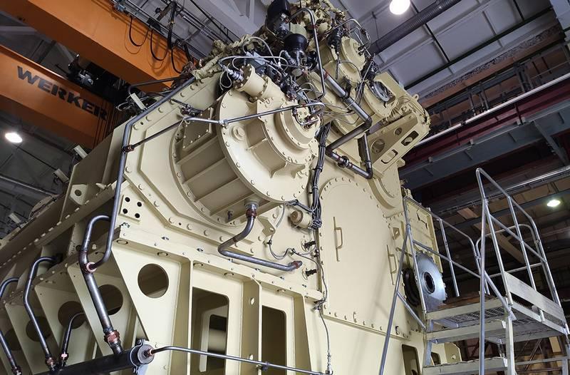 """PJSC """"Zvezda"""" inicia produção em série de caixas de câmbio para fragatas do projeto 22350"""