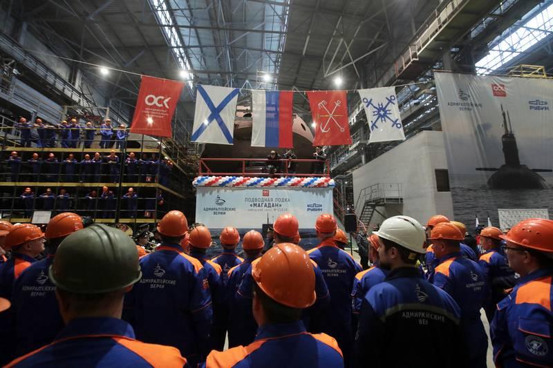 """Se conoce el momento del lanzamiento del tercer """"Varshavyanka"""" para la Flota del Pacífico"""