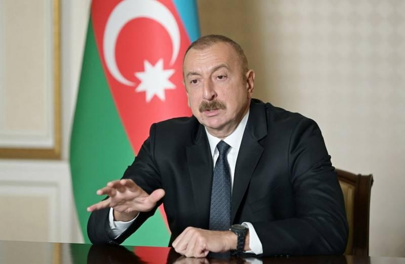 Алиев: Турецкие братья оставили нам истребители F-16 для поддержки