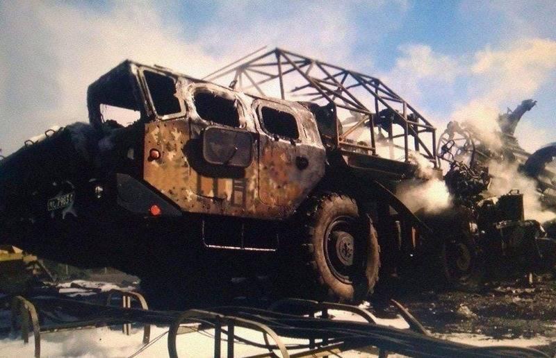 Fotos do sistema de defesa aérea S-300 destruído das Forças Armadas da Armênia apareceram na web