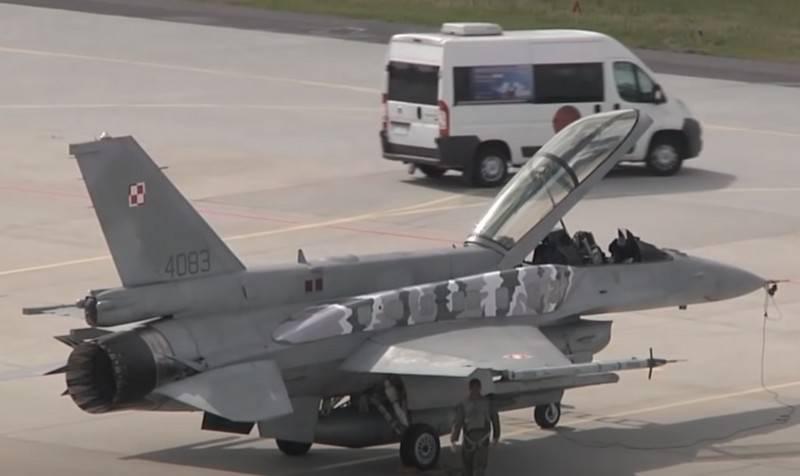 """""""Nous utilisons l'expérience de la Pologne"""": l'Ukraine a proposé d'acheter des chasseurs F-16 américains"""