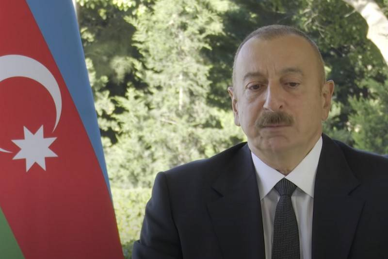 Aliyev accused the Russian base in Gyumri of supplying weapons to the Armenian army