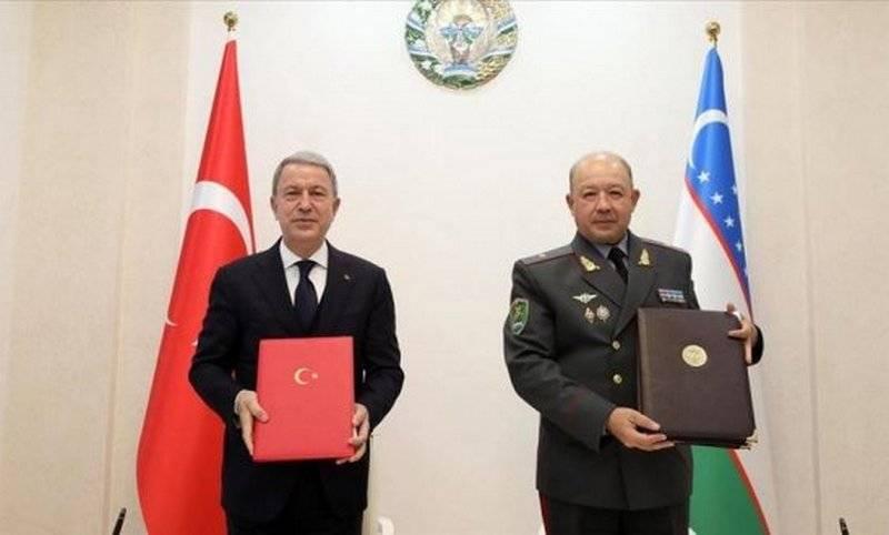 터키, 중앙 아시아 국가에 군사 협력 강화