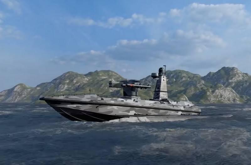 """Pas seulement """"Bayraktar"""": la Turquie a présenté le concept d'un drone marin"""