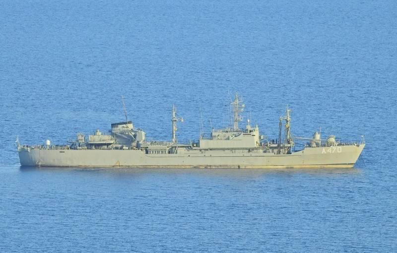 北约另一个扫雷舰队进入黑海