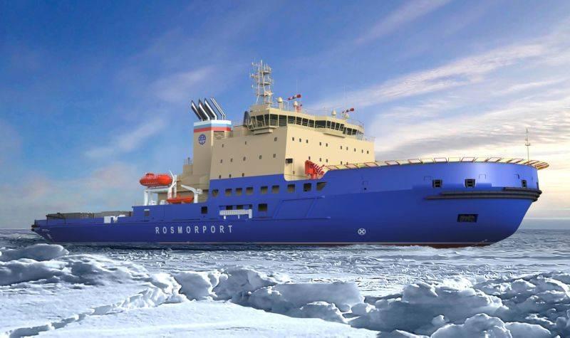 В Гамбурге заложили новый дизель-электрический ледокол проекта 21900М2 для Дальнего Востока