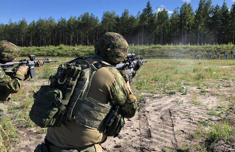 Estonian army began rearmament with new automatic rifles