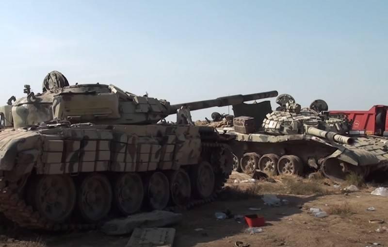 Bakü, çatışma sırasında imha edilen Ermenistan'ın askeri teçhizatının maliyetini tahmin etti