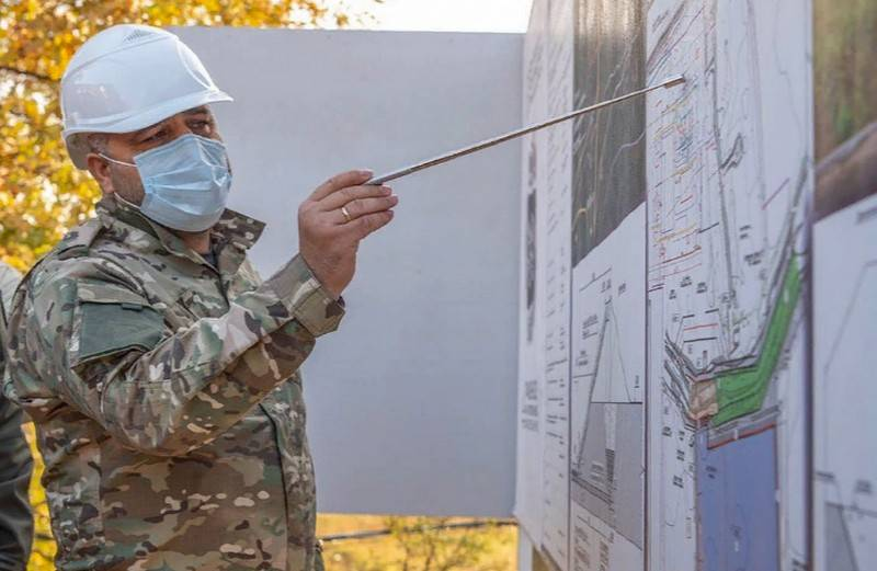 Ministry of Defense begins work on providing fresh water to Crimea