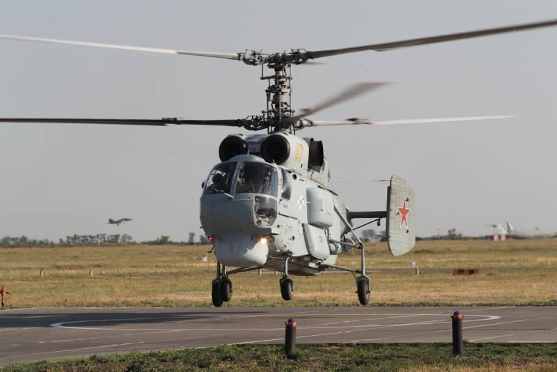 Многоцелевой вертолет «Минога» как будущее морской авиации