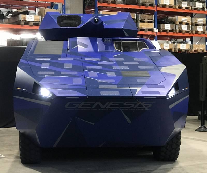 Опытная бронемашина FFG Genesis. Новый вариант немецкой электротрансмиссии