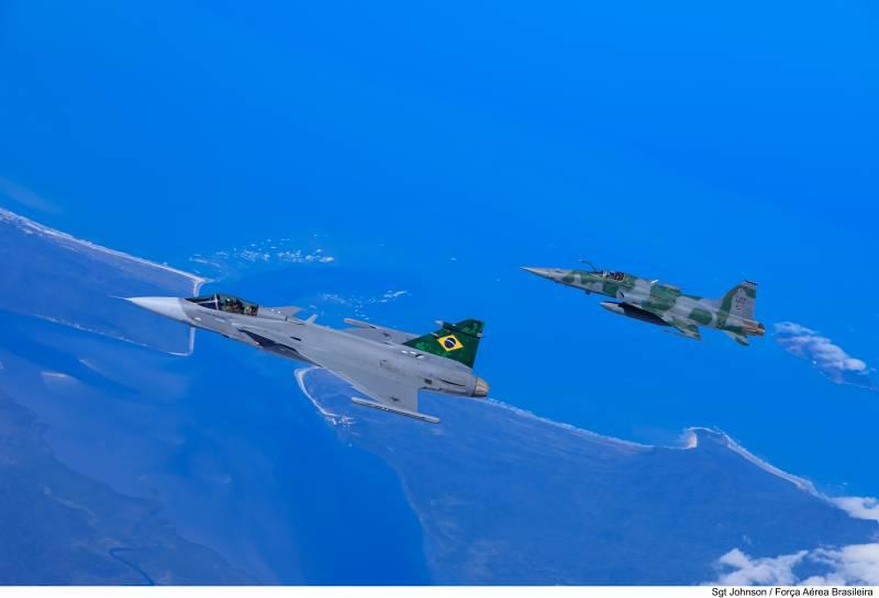 Истребители Northrop F-5 на службе ВВС Бразилии