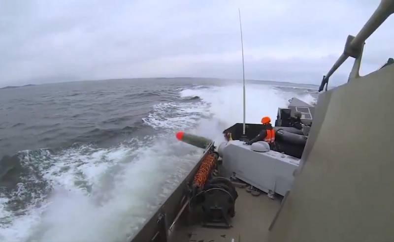 «Мы следим за нашим морем круглосуточно»: в ВМС Финляндии показали применение торпеды