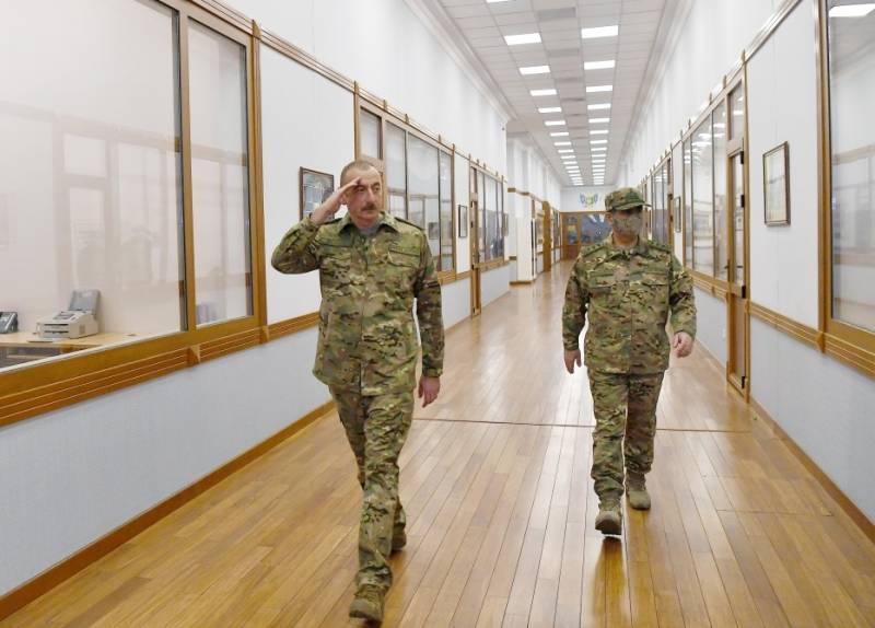 Алиев объявил о взятии под азербайджанский контроль Губадлы и уничтожении техники противника
