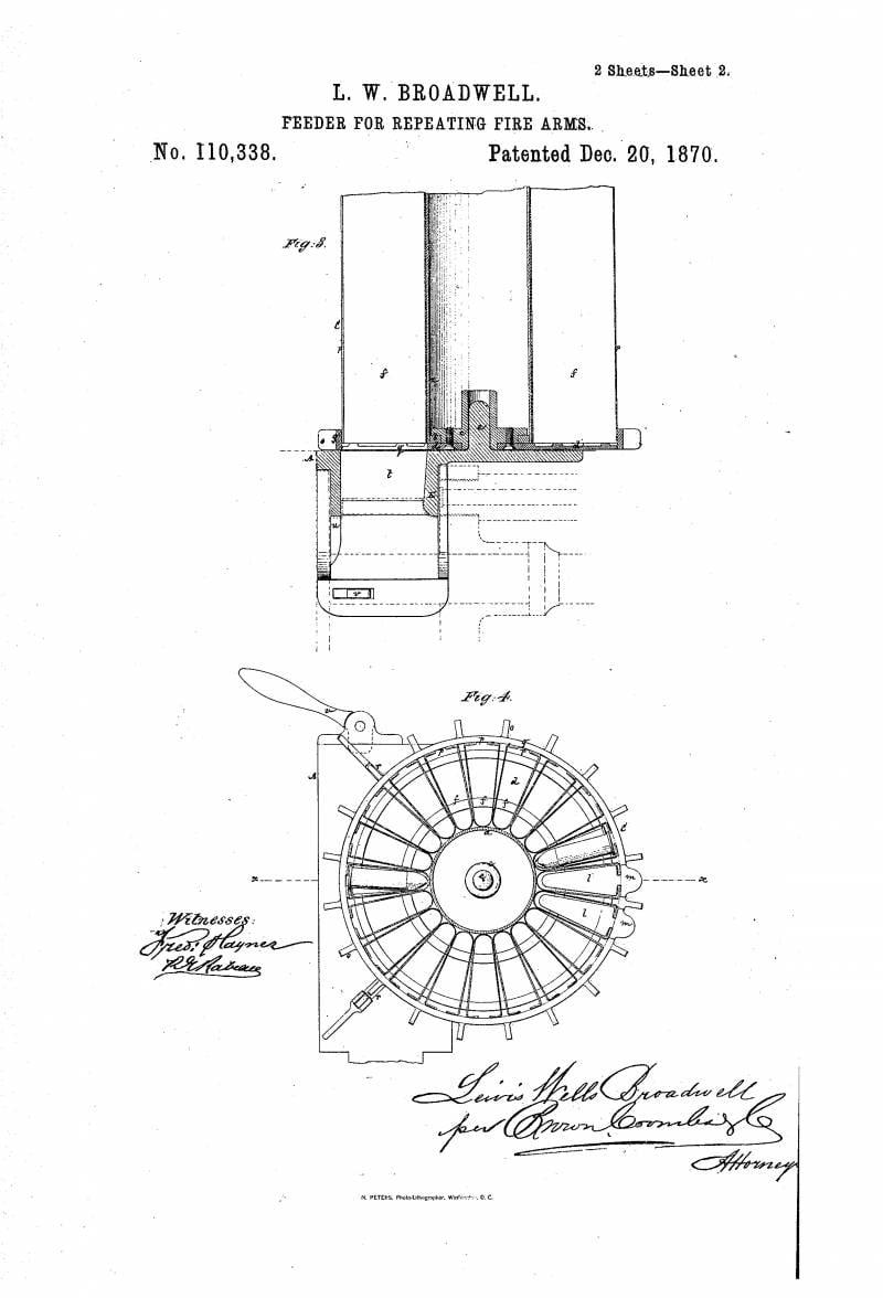 Изобретение и совершенствование. Пулеметы Р. Дж. Гатлинга