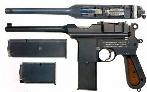 手枪阿斯特拉900
