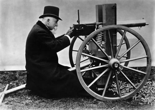 Maschinengewehr Maxim