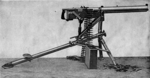 Bergman-Nordenfelt Maschinengewehr 1897
