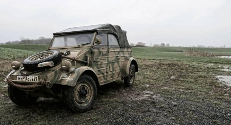 Народный военный автомобиль Volkswagen Kubelwagen