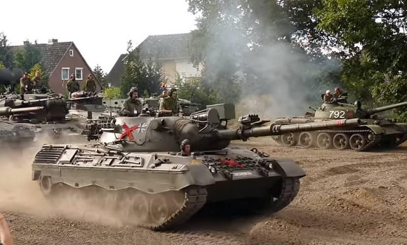 OTAN desmontou meio mil tanques Leopard para sucata